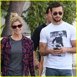 Ashley Greene & Paul Khoury Hang with Friends