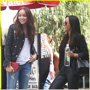 Ashley Madekwe: Lunch Date with Cara Santana!
