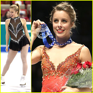 Ashley Wagner: Silver Medal at Skate America 2013