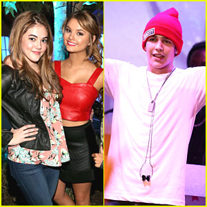 Austin Mahone & Stefanie Scott: Aquafina FlavorSplash Launch with McKaley Miller!
