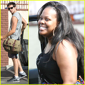 Brant Daugherty & Amber Riley: More 'Dancing' Practice