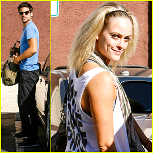 Brant Daugherty: Fan Friendly before 'DWTS' Rehearsals!