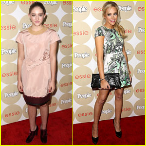 Carly Chaikin & Willow Shields: People Mag's 'Ones to Watch' Party