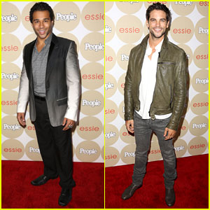 Corbin Bleu: People Mag's 'Ones to Watch' Party with Brant Daugherty!