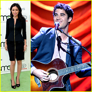 Darren Criss & Christian Serratos: Environmental Media Awards 2013