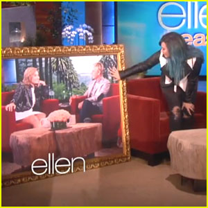 Demi Lovato: Haunted Houses & Housewarming Gifts on 'Ellen'!