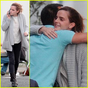Emma Watson: London Lunch with a Guy Pal