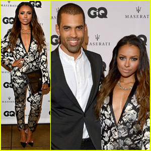 Kat Graham: 'GQ Men' Party with Fiance C