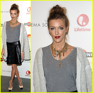 Katie Cassidy: 'House of Versace' Screening