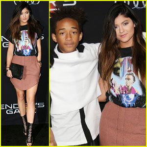 Kylie Jenner & Jaden Smith: 'Ender's Game' Premiere Pair