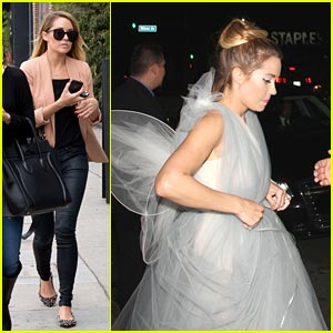 Lauren Conrad: Fairy Wings for Halloween!