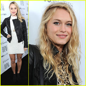 Becca Tobin & Leven Rambin: Who What Wear's Style Driven Party