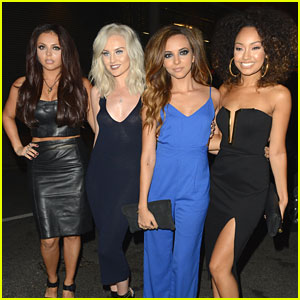 Little Mix Celebrate Leigh-Anne Pinno