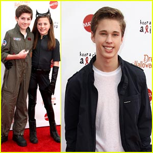 Mason Cook & Ryan Beatty: Dream Halloween Attendees