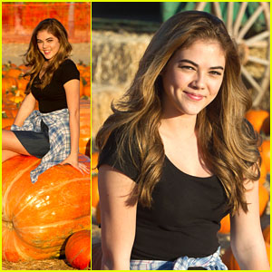 McKaley Miller: Pumpkin Patch Pretty