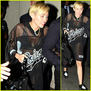 Miley Cyrus: 'Saturday Night Live' After Party Pics!