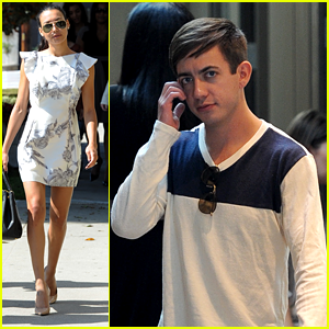 Naya Rivera: Wedding Dress Shopping with Kevin McHale!