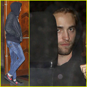 Robert Pattinson: Arctic Monkeys Show with Florence Welch!