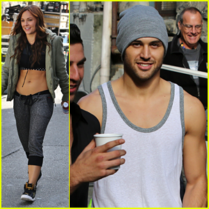 Briana Evigan & Ryan Guzman: 'Step Up 5' Lunch Break