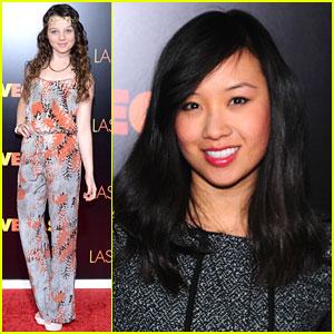 Stefania Owen & Ellen Wong: 'Last Vegas' NYC Premiere Pair