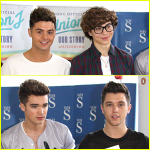 Union J: Liverpool & Manchester Book Signings