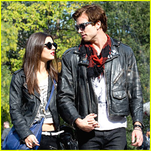Victoria Justice Films 'No Kiss List' in NYC