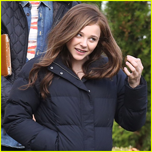 Chloe Moretz: First Day of 'If I Stay' Filming