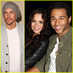 Corbin Bleu & Derek Hough: Christmas at The Grove!