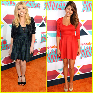 Jennette McCurdy & Daniella Monet: TeenNick HALO Awards 2013