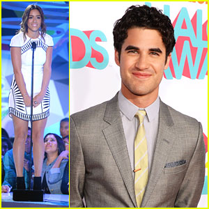 Darren Criss & Chloe Bennet - TeenNick HALO Awards 2013