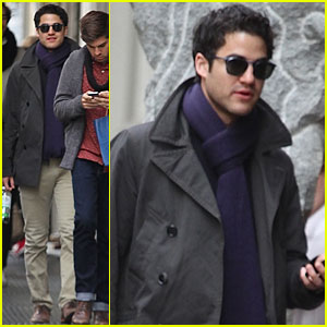 Darren Criss: I'll Go Wherever 'Glee' Takes Me!