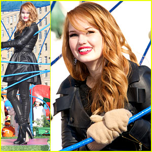 Debby Ryan on Macy's Thanksgiving Day Parade: 'It's A Bucket List Moment'