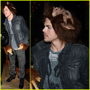 Derek Hough: Teen Wolf Halloween Costume!