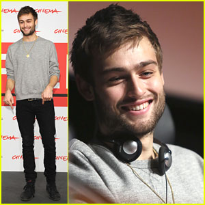 Douglas Booth: 'Romeo and Juliet' at Rome Film Festival 2013