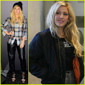 Ellie Goulding Steps Out After Tour Announcement