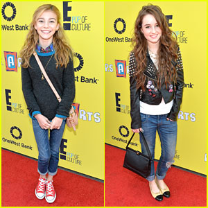 G Hannelius & Kaitlyn Dever: P.S. Arts Express Yourself Event