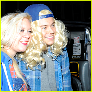 Harry Styles: Blonde Wigs with Nick Grimshaw!