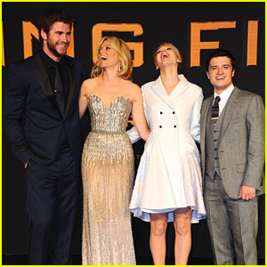 Jennifer Lawrence & Josh Hutcherson: 'Catching Fire' Premiere in Berlin!