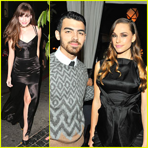 Joe Jonas & Blanda Eggenschwiler: Erdem Dinner with Christa B. Allen