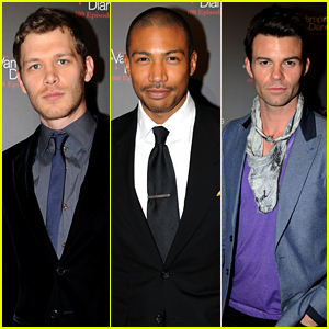 Joseph Morgan: 'Originals' Cast Celebrate 'Vampire Diaries' 100th Episode!