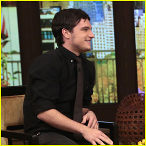 Josh Hutcherson On Jennifer Lawrence 'Catching Fire' Kiss: 'It Was Very Slobbery'