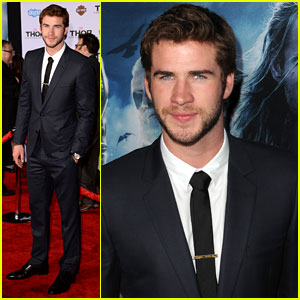 Liam Hemsworth: 'Thor: The Dark World' Hollywood Premiere