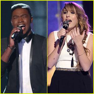 Matthew Schuler & Caroline Pennell: 'The Voice' Top 12 Performances - Watch Now!