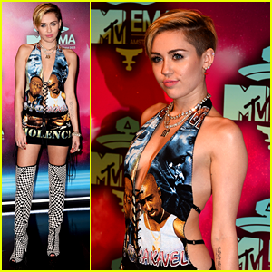 Miley Cyrus - MTV EMA 2013 Red Carpet