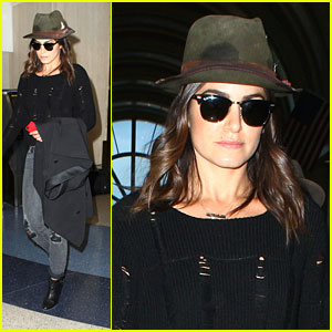 Nikki Reed: Landed at LAX