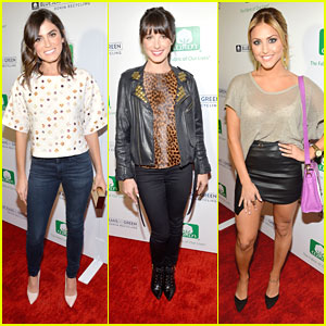 Nikki Reed & Shenae Grimes: Blue Jeans Go Green Recycling Celebration