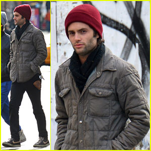 Penn Badgley: Post-Birthday Stroll in NYC