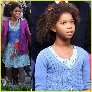Quvenzhane Wallis: Movie Premiere Scenes for 'Annie'
