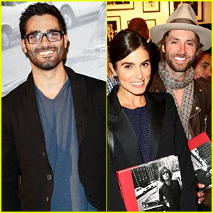 Tyler Hoechlin & Nikki Reed: John Varvatos Book Launch