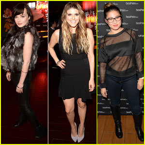 Ashley Rickards & Molly Tarlov: Beyonce Concert Attendees!